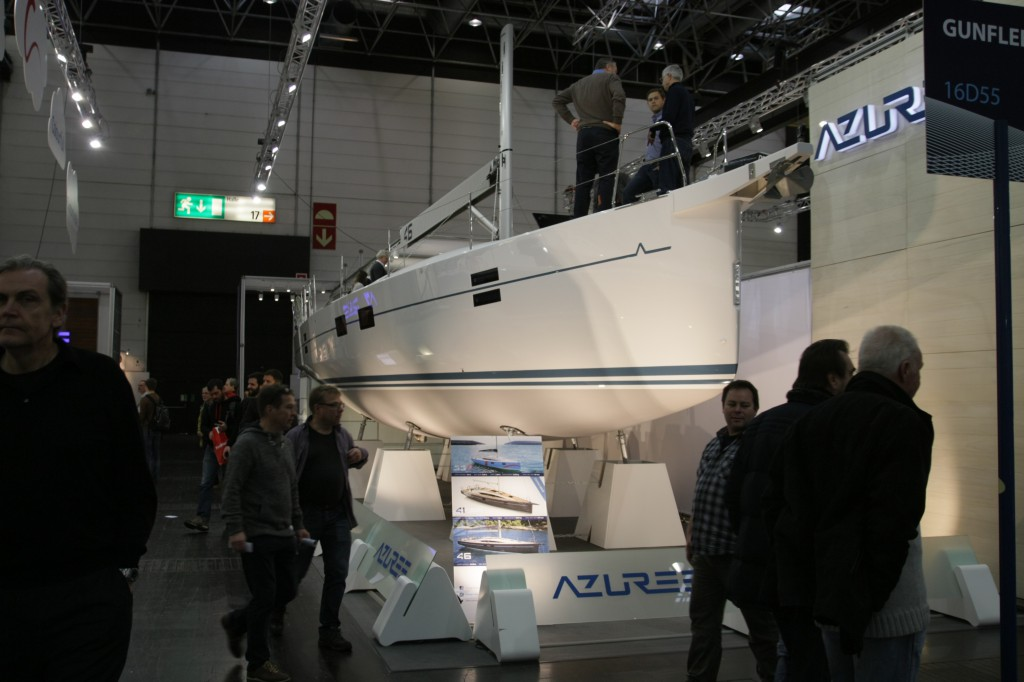 Sirena Marine Azuree on Boot2016